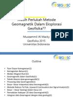 SEG Magnetic Class 1