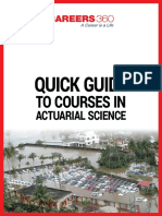 Career360 eBook courses in actuarial science