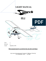 Flight Manual Storch HS J