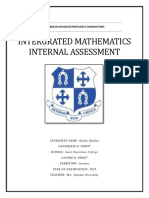 Akshay Bankay Integrated math SBA 2018.docx