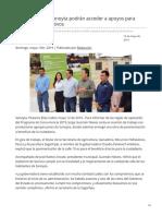 12-05-2019 - Productores de Sonoyta podrán acceder a apoyos para proyectos productivos - H.canalsonora.com