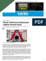 Moche_ Patrimonio Cultural Para Celebrar Semana Santa - SEMANASANTA - Diario Satélite