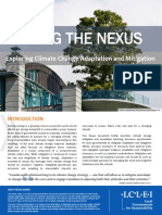 ICLEI FINDING THE NEXUS CLIMATE ADAPTATION AND MITIGATION