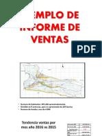 Ejemplo Informe de Ventas