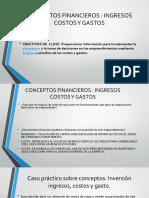 Conceptos Financieros Ingresos Costos Gastos 2019 A
