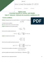 Algebra Lineal 27