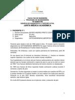 Casos Medicos Junta Medica