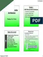 1. 8051 Microcontroller Architecture (Module1)
