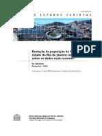 2403_Evolução Da População de Favelas Na Cidade Do Rio de Janeiro