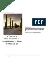 Actividad 15 Reconocimiento de Árboles Fábrica de Armas Con Códigos Qr