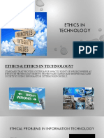 Ethics in Technology