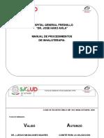 Manual de Procedimientos Inahaloterapia