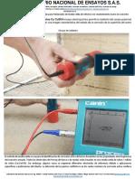 Servicio Determinacion de La Corrosion en Concreto Campo Potencial y Resistividad