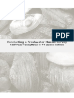 How To Conduct a Mussel Survey