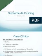 caso clinico sindrome de cushing