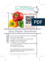 Bell Pepeprs Recipe