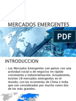 6 Mercados Emergentes Power Point