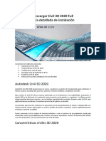 Descargar Civil 3D 2020 Full