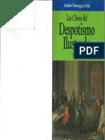 Domínguez, Antonio. (1990). Las claves del despotismo ilustrado.