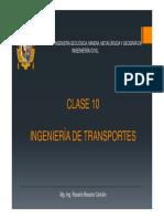 Ingeniería de Transportes c10-2018ii
