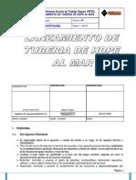 1. Pets-lanzamiento de Tuberia Hdpe-promasamodelo Para Contratistas