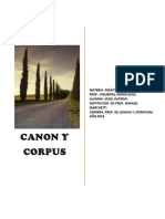 Trabajo Monográfico Del Canon y Corpus
