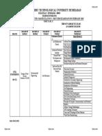 B.tech r16 3-2 Mid i Exams Timetable Feb 2019