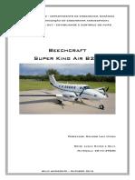 Estabilidade e Controle da Aeronave Beechcraft B200 King Air