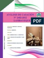 ANALISIS DE CASACION N° 2402-2012.docx