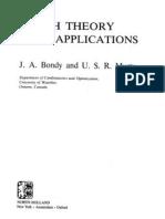 Graph Theory With Applications - J. Bondy, U. Murty