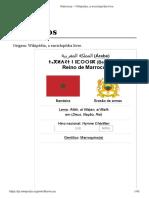 Marrocos – Wikipédia, A Enciclopédia Livre