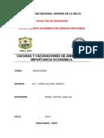 Vacunas y Vacunaciones endemicas en la zona de Tingo Maria