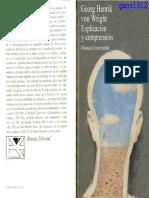 von Wright, Georg H. - Explicación y Comprensión.pdf