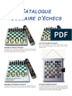 Catalogue Scolaire d'Echecs