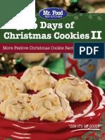 12 Days of Christmas Cookies II