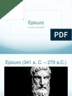 Clase 5 Epicuro