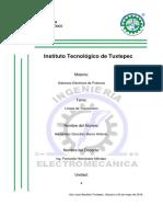 Lineas de Transmisión Sistemas Eléctricos de Potencia