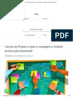 Canvas de Projeto_ o que é, Vantagens + Modelo pronto para Download