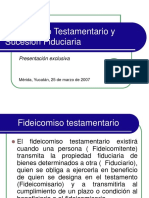 Tratamiento Tributario de Los Fideicomis