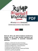 Trum Desbloquea Venezuela