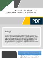 Investigación y Reporte de Accidentes de Trabajo y