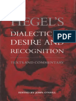 John O'Neill - Hegel's Dialectic of Desire and Recognition (1996, State University of New York Press).pdf