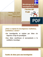 Metodologia de La Investigacion - Planteo Del Problema