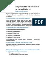 Evaluacion Primaria en Atencion Prehospitalaria