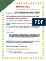 CLASIFICACIÓN DE LA MANO DE OBRA.docx