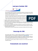 Manual Para Instalar JDK