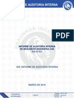 Sig-If-001 Informe de Auditoria Interna