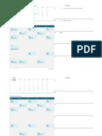 Calendario Para Estudiantes (LUN