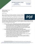 DOE Odyssey Formal Review letter