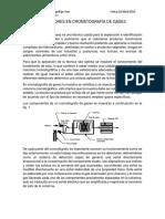 Química Análitica IV. Ensayo CG.docx